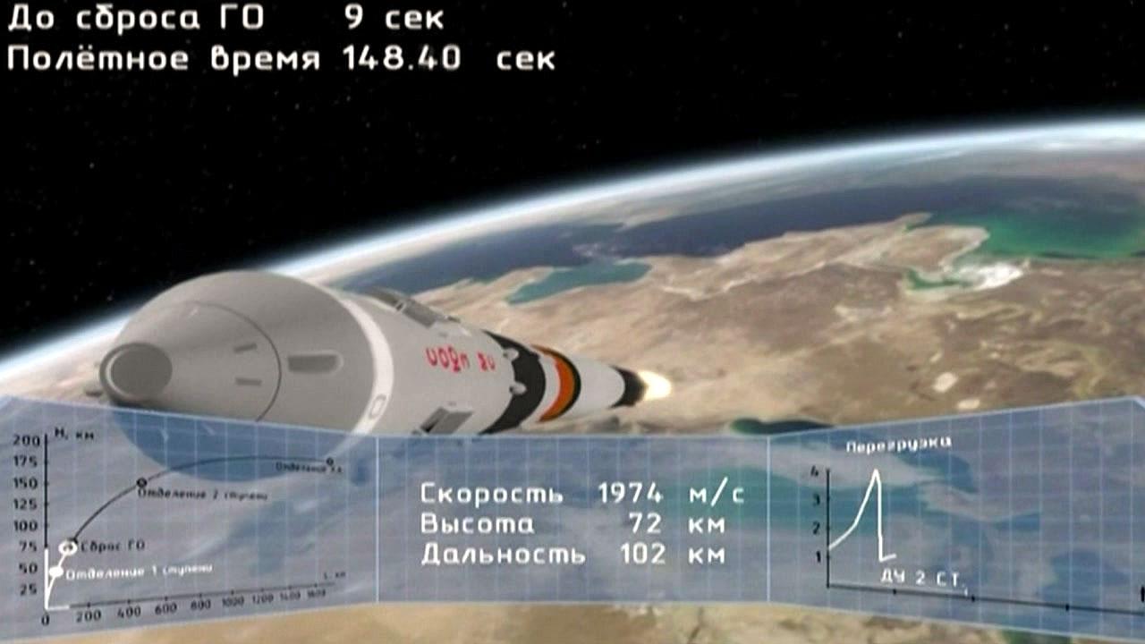 35년 만에 러 우주선 발사 사고...우주인 운송 사업 '타격' 전망