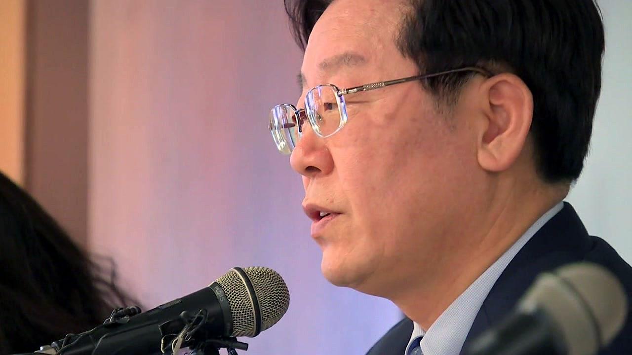 """경찰, 이재명 경기지사 압수수색...""""형 강제입원 관련"""""""