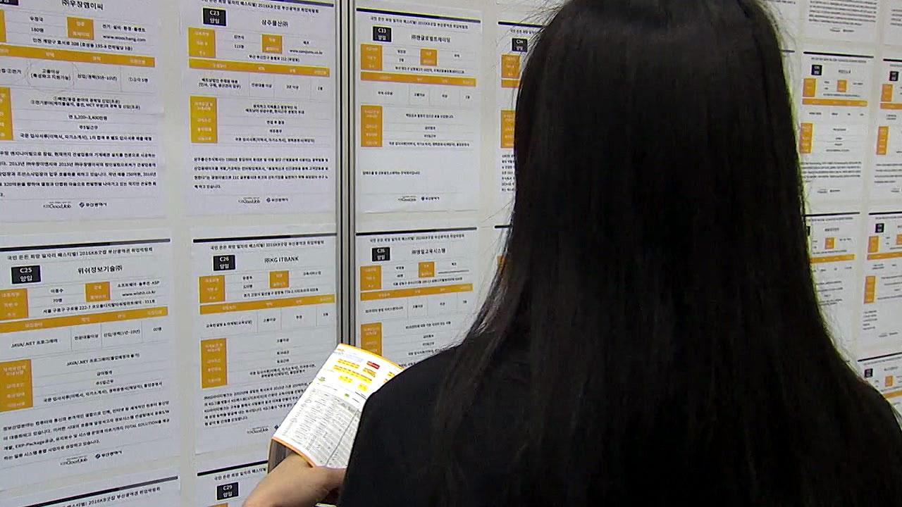 9월 취업자 4만 5천 명 증가...실업자 102만 명