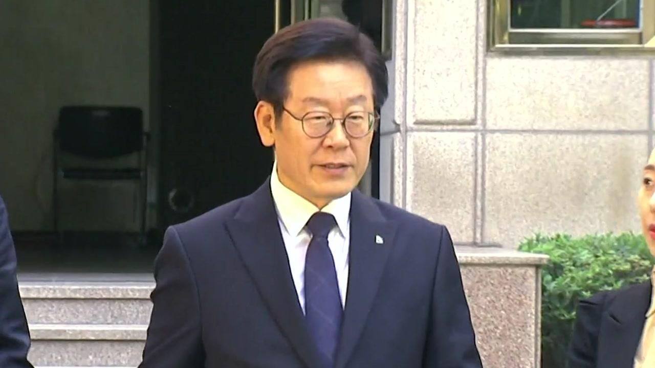 """이재명 지사 압수수색...""""형 강제입원 관련"""""""