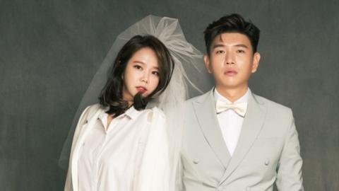 '10월 결혼' 홍현희♥제이쓴, 달달한 웨딩화보 공개