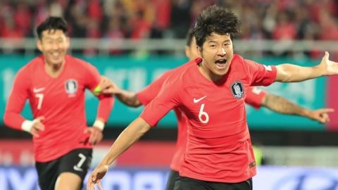 축구대표팀, 파나마 평가전 2:2 무승부