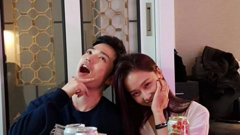 홍수현, ♥마이크로닷 친형 산체스 생일파티도 함께 '달달ing'