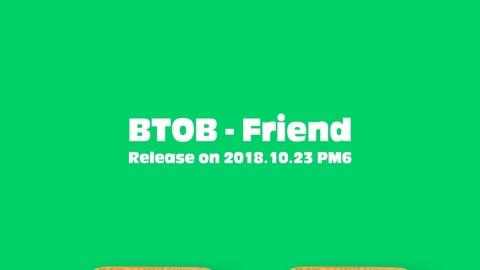 컴백 비투비, 10월 23일 서은광 참여 'Friend' 선공개