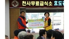 중소기업연합봉사단, 천사무료급식소에서 독거노인 위한 나눔 활동