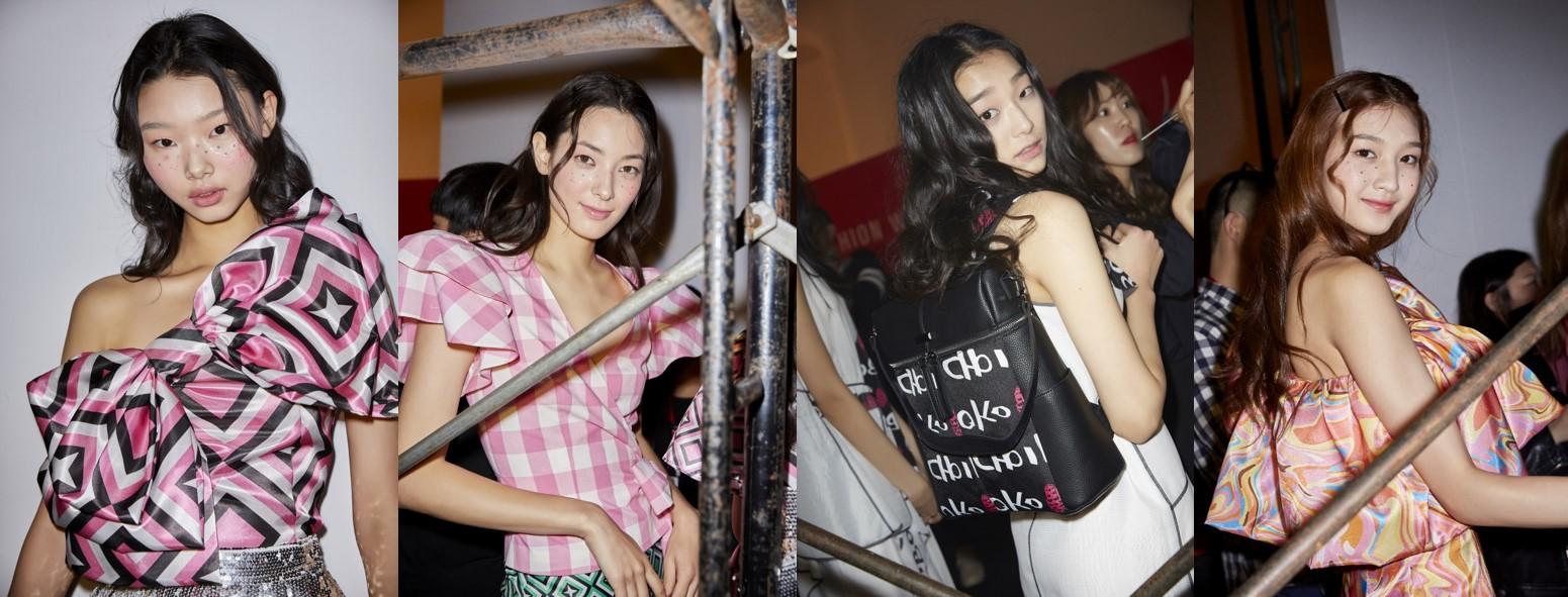 배윤영-티아나톨스토이-김설희-하나령, 헤라서울패션위크 런웨이 섭렵