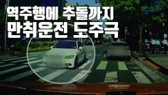 [자막뉴스] 역주행에 추돌...서울 한복판서 '만취운전' 도주극