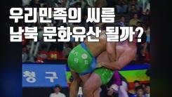 [자막뉴스] 남북이 각각 신청한 씨름, 공동 유네스코 문화유산 될까?