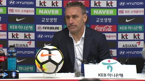 벤투호 내일(5일) 3기 대표팀 명단 발표...손흥민·장현수 제외