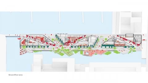 〔안정원의 건축 칼럼〕 건축과 녹지, 물을 하나의 시스템으로 엮어낸 아이뷔르흐 아고라 2