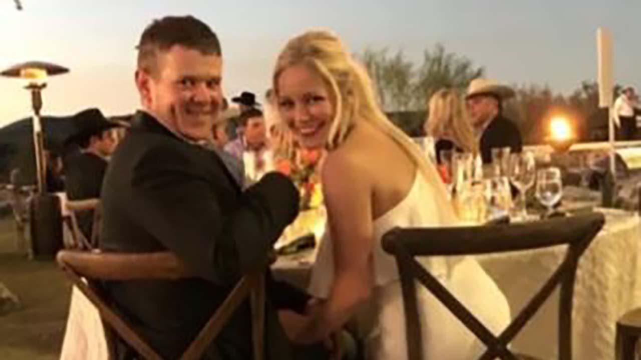 결혼식 당일 밤 헬기 추락 사고로 사망한 신혼 부부