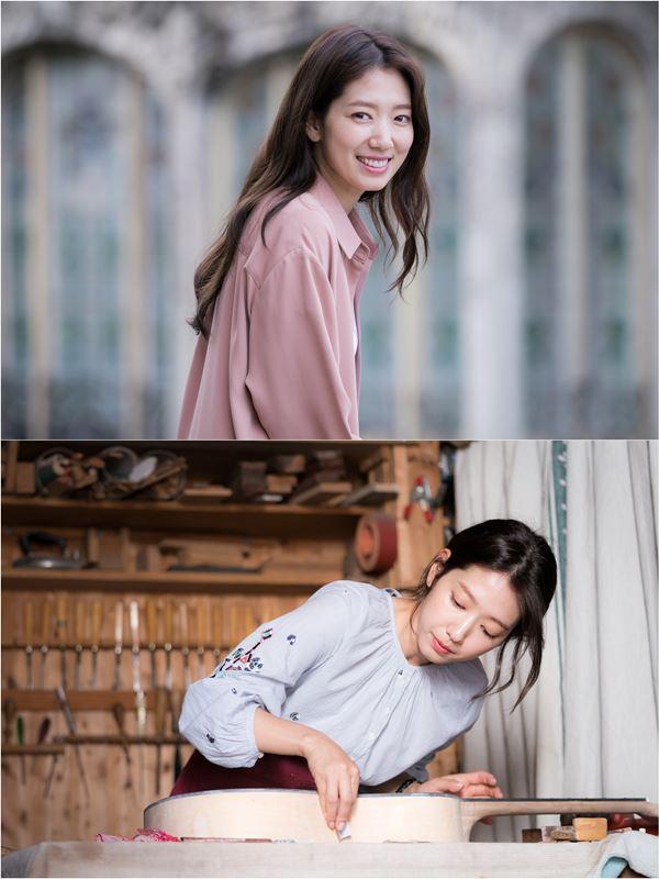 """""""스페인어 구사·기타 연습""""....'알함브라' 박신혜의 변신"""
