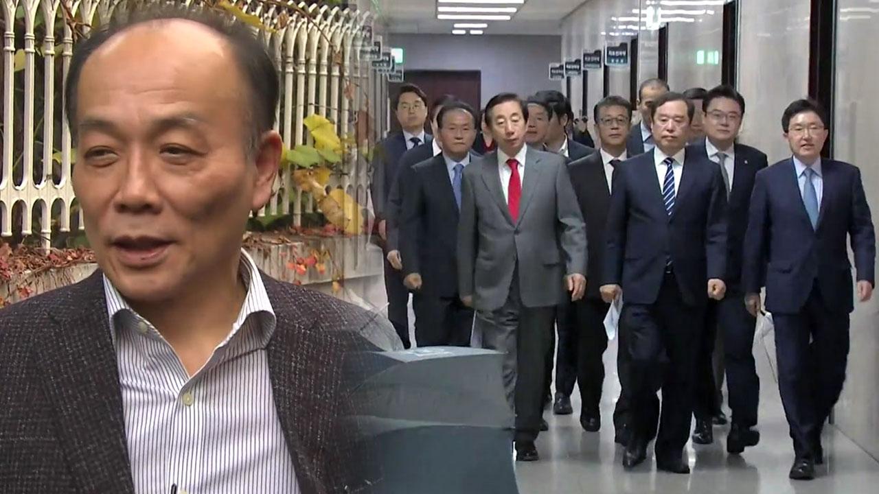 한국당, 전원책과 결별...파국으로 끝난 '김병준 십고초려'