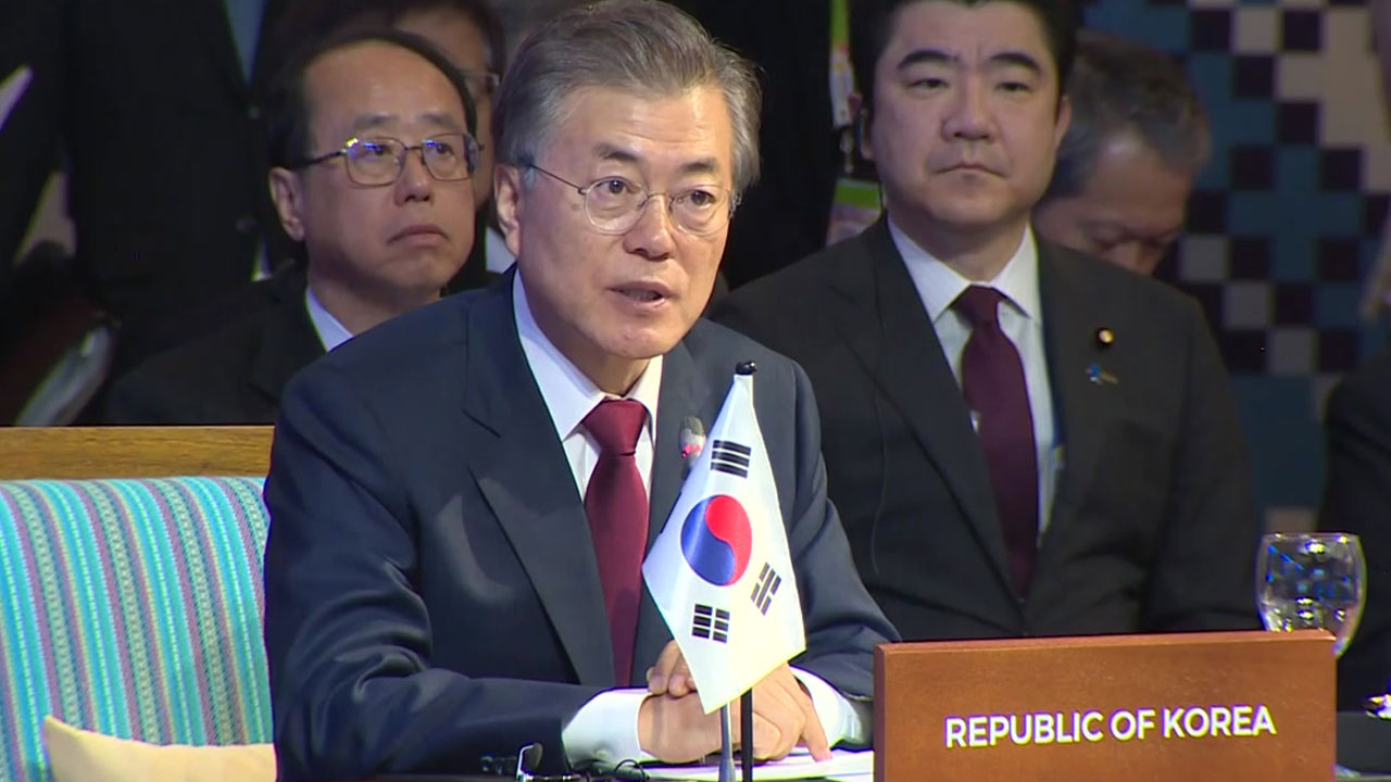 문 대통령, 이번 주 경제 외교 나선다...푸틴·시진핑 회담도 추진