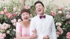 홍윤화·김민기, 17일 결혼…꿀 떨어지는 웨딩사진 공개