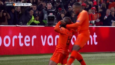 '절치부심' 오렌지군단, 월드컵 챔프 프랑스 격파
