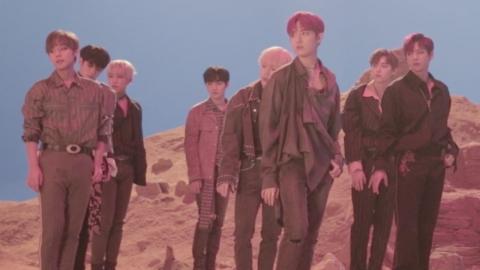 """""""워너원이 온다""""...타이틀곡 '봄바람' MV 비하인드 공개"""
