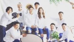 """""""유부클럽 가입""""...김창렬, 정재용♥이선아 웨딩 화보 공개"""