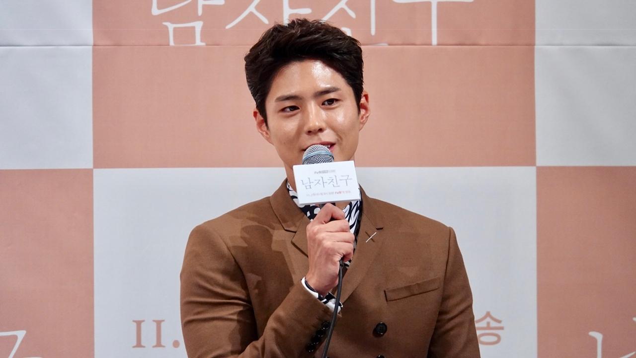 Park Bo Gum bercerita jika Song hye Kyo sangat menjaganya dan sering memberikan nasehat saat syuting (dok. YTN Star)
