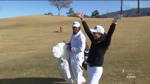 LPGA팀, 박인비 인비테이셔널 첫날 1점 차 리드
