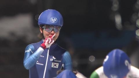 김보름, 월드컵 매스스타트 금빛 질주