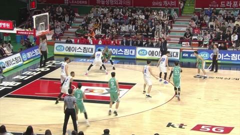 2위 KT, KCC 꺾고 7년 만에 5연승 신바람