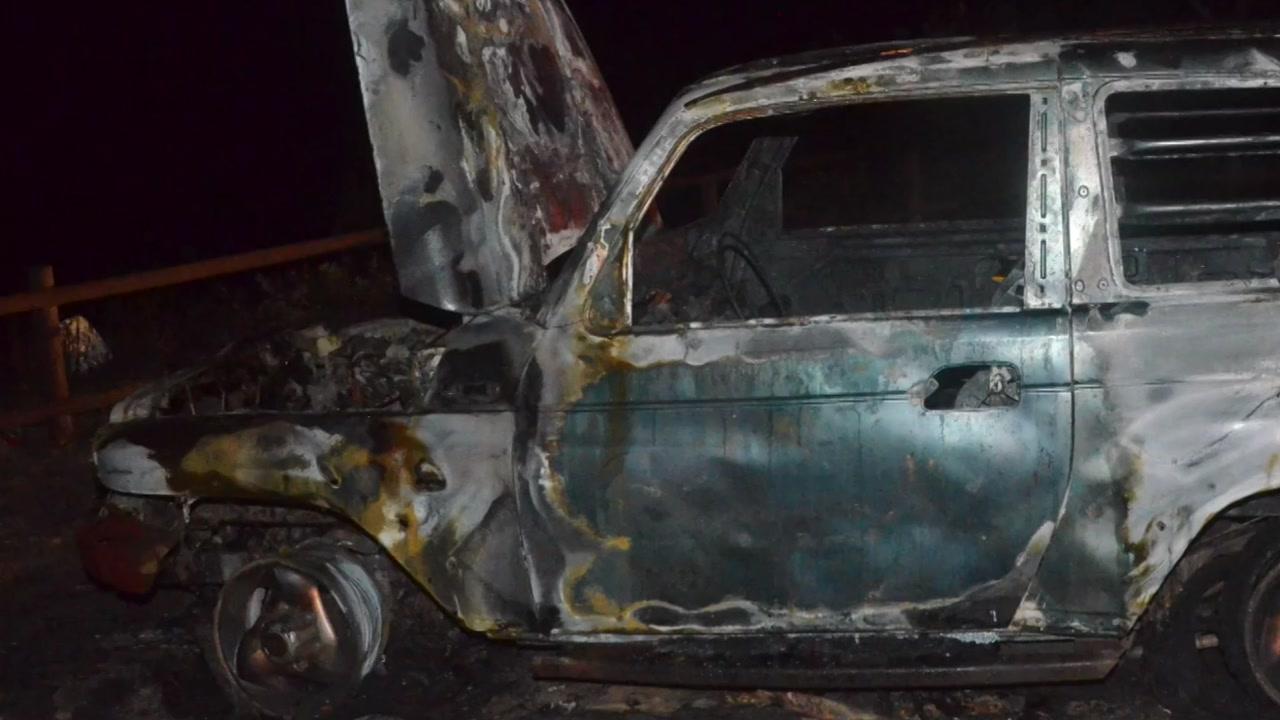 주차된 SUV 불...트렁크에서 시신 1구 발견