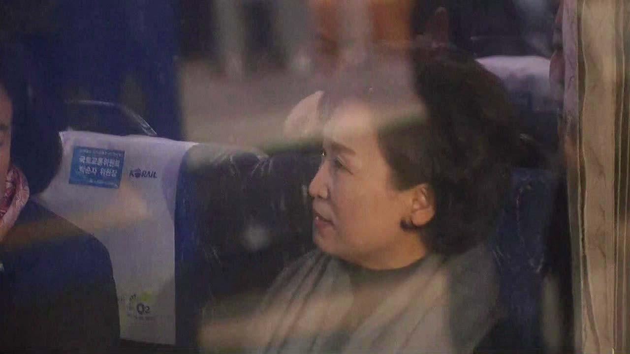 [현장영상] 남북철도 공동조사 열차 서울역 출발