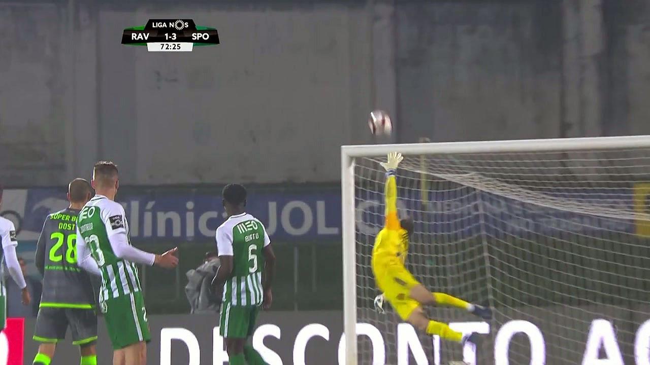 [영상] 포르투갈리그, 시원한 중거리슛! 감독도 두 손 번쩍!