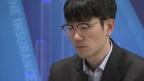 안국현 8단, 삼성화재배 결승 2국 커제에 패배