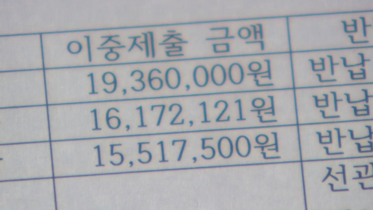 '영수증 이중제출'...꼼수 부린 '의원님들'