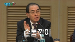 [팔팔영상] 태영호, 'Made in Korea 손톱깎이' 때문에 망명했다?