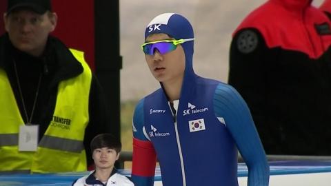 김민석, 빙속 월드컵 3차 1,500m 동메달