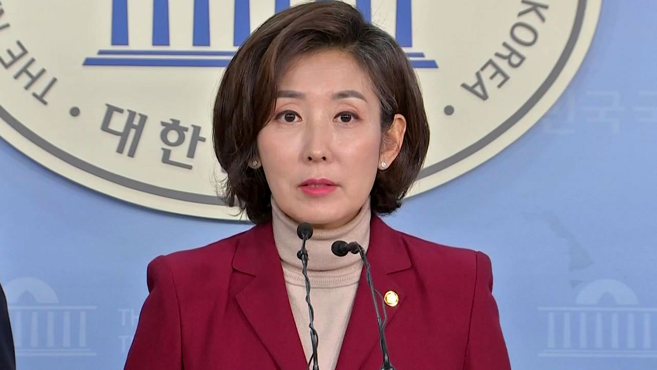 """자유한국당 원내대표 출마 나경원 """"경륜과 실력으로 품격있는 투쟁"""""""