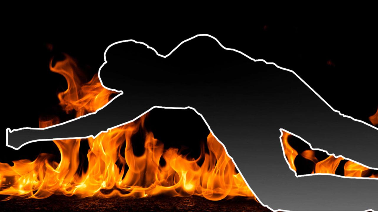 화재 현장서 발 묶인 시신 발견...경찰, 수사 착수
