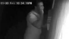 10대 소녀 침실 훔쳐본 남성, CCTV에 포착돼 체포