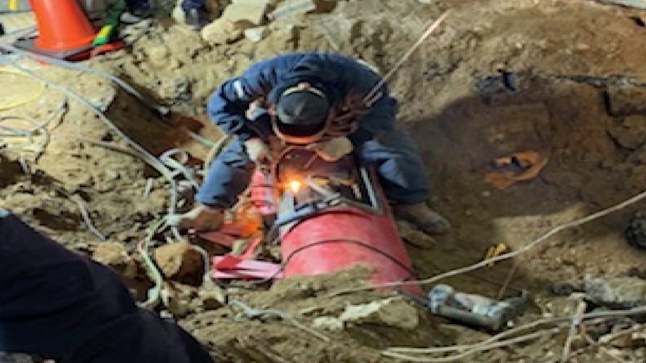 해운대 마린시티 일대 한때 도시가스 공급 중단