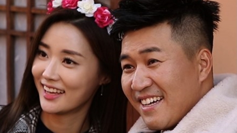 '연맛' 김종민♥황미나, 첫 커플 화보...이마키스까지 '설렘 폭발'