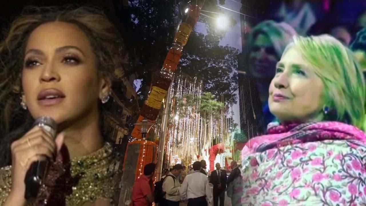 인도 갑부 딸 1,100억 초호화 결혼식...세계 유명인사 총출동