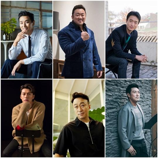 [Y-STAR 연기 어워즈①] 주지훈·마동석·조진웅, 다작(多作)으로 날았다