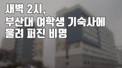 [자막뉴스] 새벽 2시, 부산대 여학생 기숙사에 울려 퍼진 비명