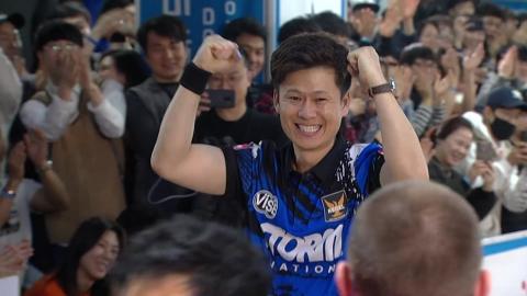 이승섭, 스톰·도미노피자컵 국제볼링 첫 메이저 우승