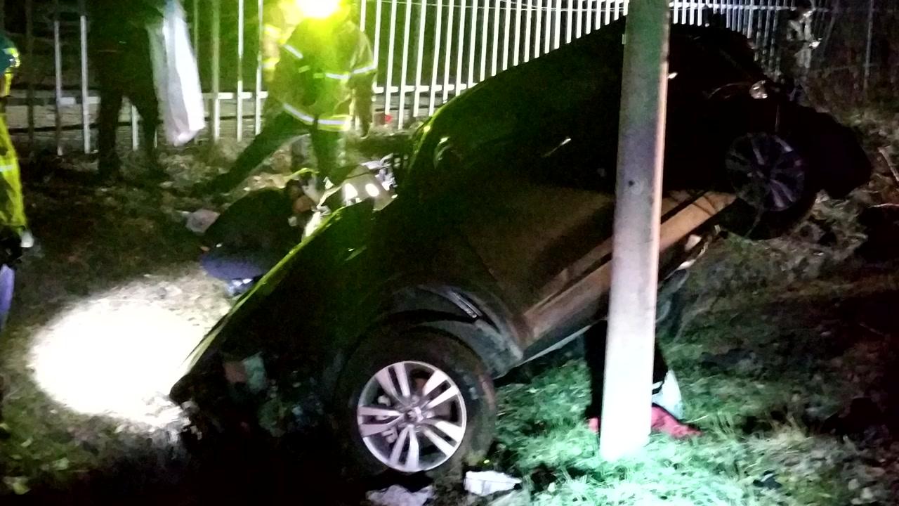 아들 면회 뒤 귀가하다 교통사고...일가족 4명 사망