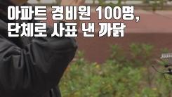 [자막뉴스] 아파트 경비원 100명, 단체로 사표 낸 까닭