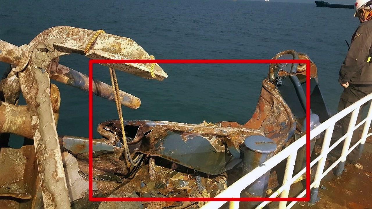 여수 해상 어선·바지선 충돌...4명 부상