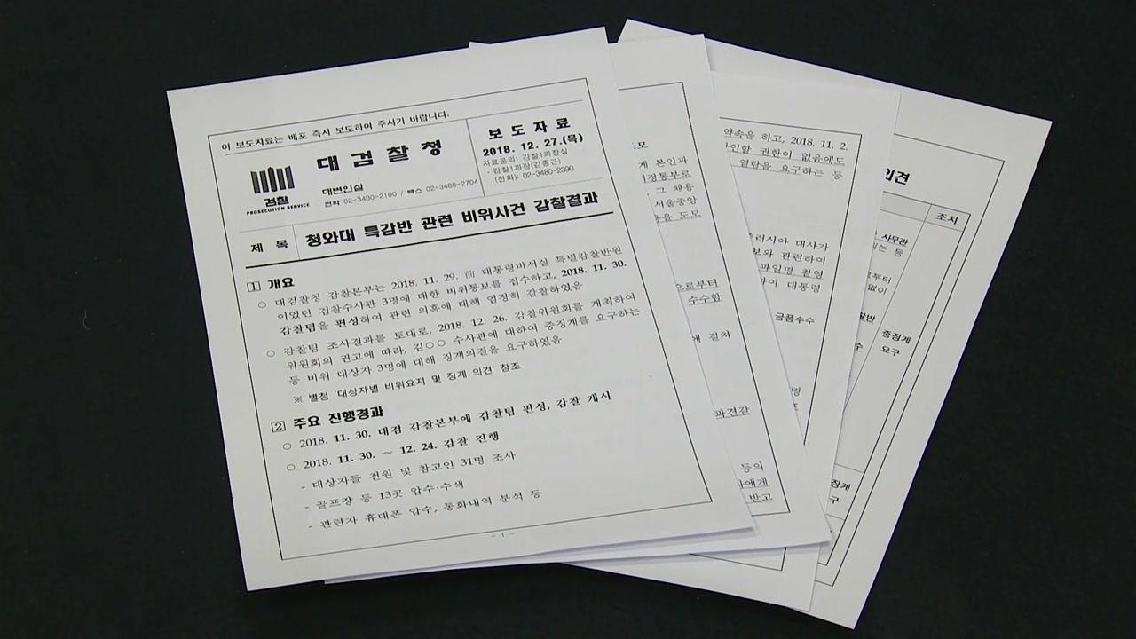 [취재N팩트] 대검, 김태우 해임 요구...검찰도 강제수사 돌입