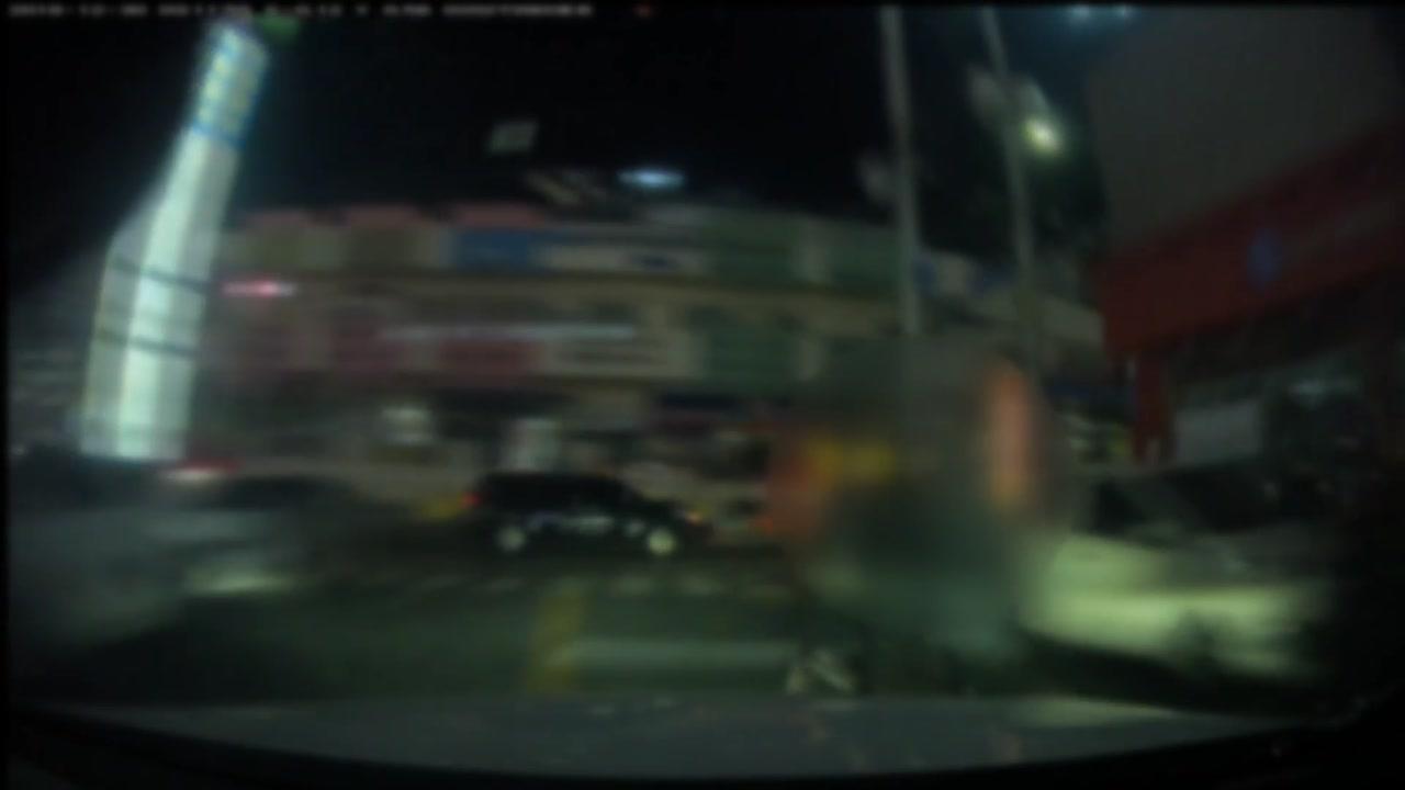 음주운전으로 보행자와 차량 친 20대 검거