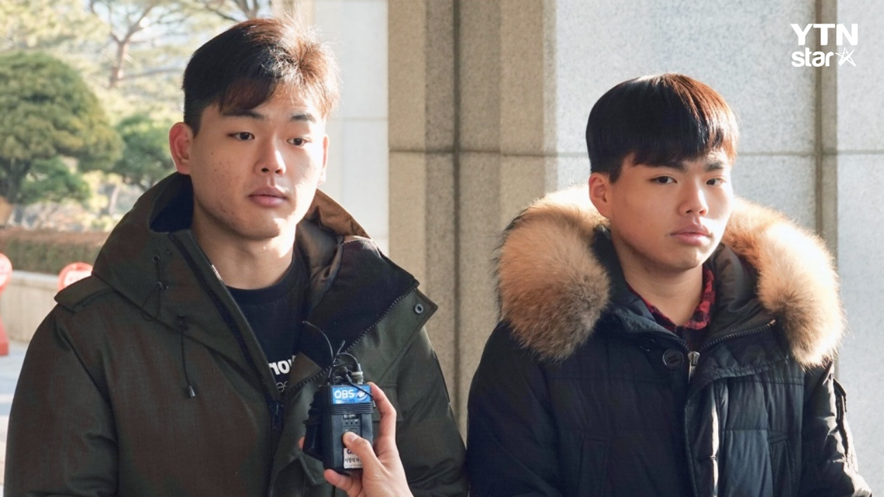 이석철·승현 형제, 검찰 출석…미디어라인 측 주장 전면 반박