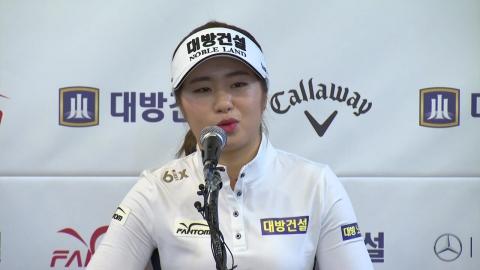 """이정은, LPGA 데뷔 출사표는 """"한국 선수 신인왕 5연패"""""""