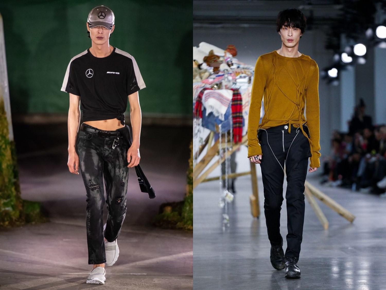 모델 박경진-수민, 2019 F/W 멘즈 컬렉션 화려한 시작!